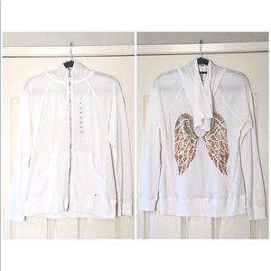 Victoria's Secret Angel Wing Sweatshirt Medium New